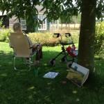 Workshop Landschap Schilderen en Tekenen bij een boerderij in Warnsveld, Zutphen